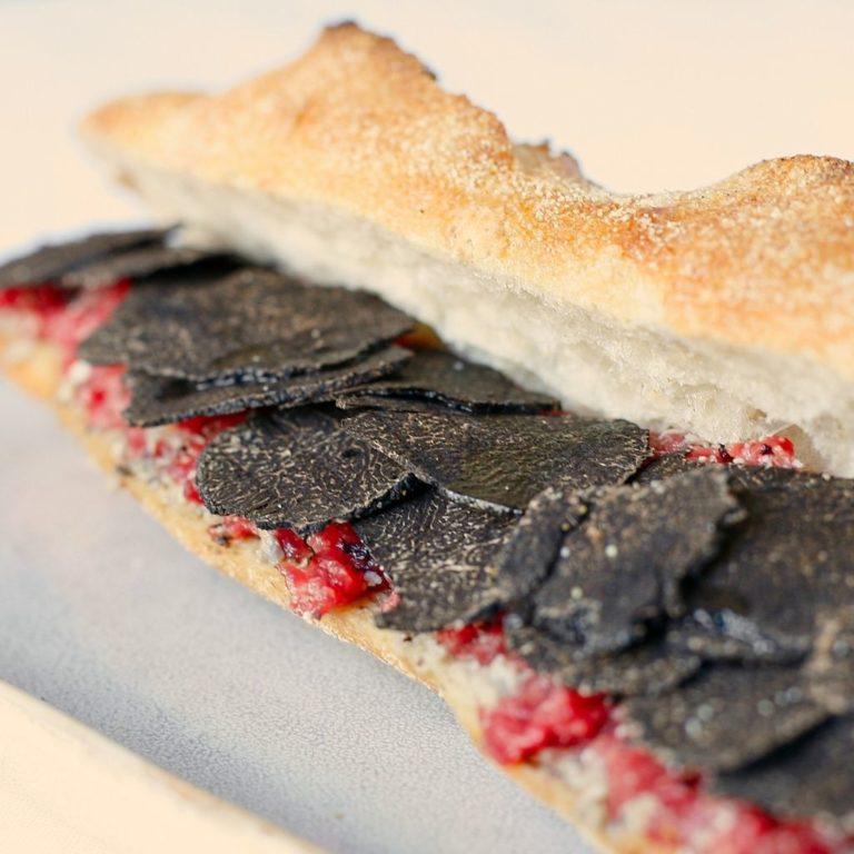 photo baguette tartare par Truffe & Baguette